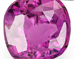 IGI Certified Sri Lanka Fancy Sapphire, 0.81 Carats, Deep Pinkish Purple