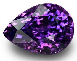 IGI Certified Madagascar Fancy Sapphire, 2.40 Carats, Vivid Purplish Violet