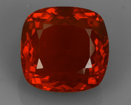 Private Auction CERTIFIED 7.75 CTS NO HEATED BEST QUALITY~FIRE OPAL TOP COL