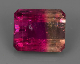 4.55 CTS~GENUINE NATURAL EARTH MINED UNHEATED BI CO TOURMALINE~$650