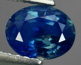 CERTIFIED 1.32 CTS UNHEATED AWESOME CORNFLOWER BLUE SAPPHIRE FACET GENUINE
