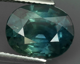 CERTIFIED 4.42 CTS NATURAL HEATED BEAUTIFUL BLUE THAILAND SAPPHIRE