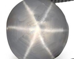 Sri Lanka Fancy Star Sapphire, 2.94 Carats, Bluish Grey Round