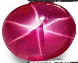 Burma Star Ruby, 4.19 Carats, Pinkish Red Oval