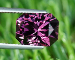 CERTIFIED 6.10CT Master Cut PURPLE COLOR 100% Natural SPINEL $1NR!