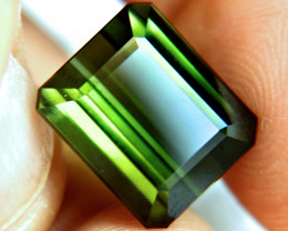 CERTIFIED - 15.26 Carat Green Nigerian Tourmaline - Gorgeous