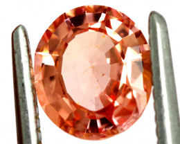 1.17  CTS   CERTIFIED UNTREATED ORANGE SAPPHIRE TBM-639 GC