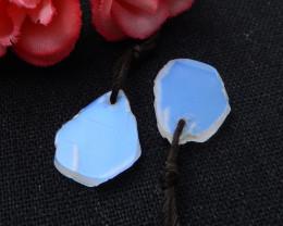 Moonstone Earrings, Nugget Moonstone Earrings, June Birthstone D766