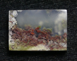 30.05 CT UNTREATED Beautiful Indonesian Moss Agate Picture