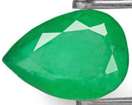 Colombia Emerald, 2.04 Carats, Intense Green Pear