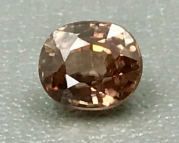 1.70 Ct Natural Zircon With Good Luster Gemstone Z3