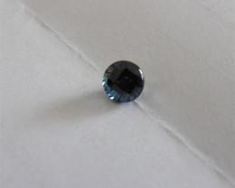Blue Sapphire Gemstone 1.78 ct round cut