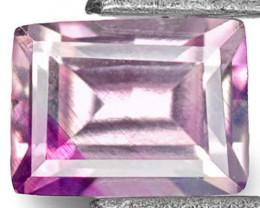 Madagascar Pink Sapphire, 0.35 Carats, Rectangular