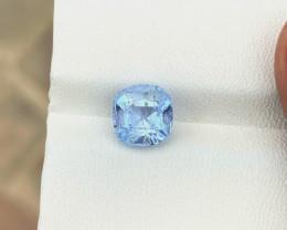 1.80 Ct Natural Blueish Transparent Aquamarine Gemstone