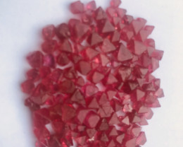 Burmese red spinel parcel