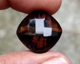 Smoky Quartz Checkered Natural+Untreated Gemstone VA2034