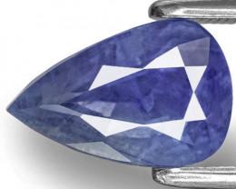 GIA & IGI Certified Kashmir Blue Sapphire, 3.11 Carats, Pear