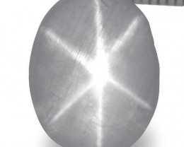 Sri Lanka Fancy Star Sapphire, 1.89 Carats, Greyish White Oval