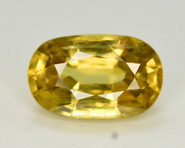 3.65 Ct Gorgeous Color Natural Yellow Zircon