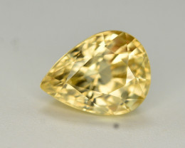 4.40 Ct Gorgeous Color Natural Yellow Zircon