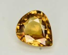 3.05 Ct Gorgeous Color Natural Yellow Zircon