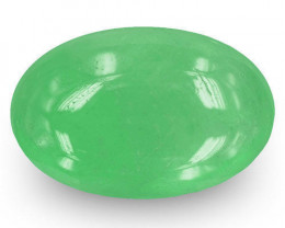 Colombia Emerald, 4.73 Carats, Lively Green Oval