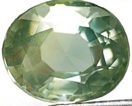 AIGS Certified Australia Fancy Sapphire, 2.14 Carats, Intense Green Oval
