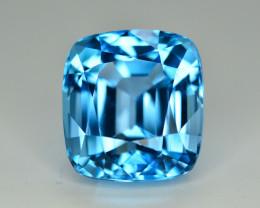 Stunning 22 Ct Natural Blue Topaz Gemstone