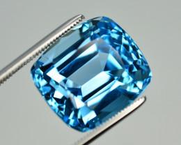 Stunning 22.50 Ct Natural Blue Topaz Gemstone