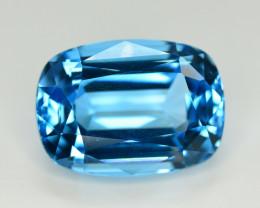 Stunning 35.80 Ct Natural Blue Topaz Gemstone