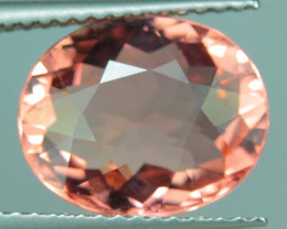 4.25 ct Padparadscha Color  Copper Bearing Mozambique Tourmaline - PT381