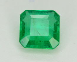 Top Quality 0.60 Ct Natural Zambian Emerald. MH