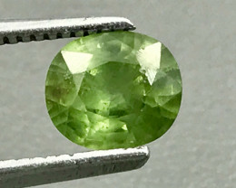 1.28 Ct Hyacinth Zircon With Good Luster Gemstone GZ5