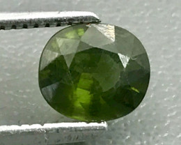 1.16 Ct Hyacinth Zircon With Good Luster Gemstone GZ6