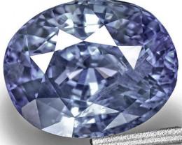 Sri Lanka Blue Sapphire, 6.42 Carats, Intense Blue Oval