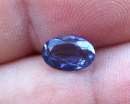 0.87cts Violetish/Blue Iolite Oval Cut