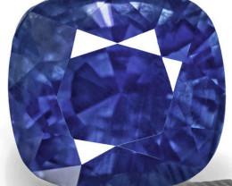 Sri Lanka Blue Sapphire, 4.63 Carats, Rich Velvety Cornflower Blue Cushion