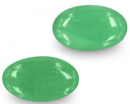 Colombia Emeralds, 8.20 Carats, Lively Intense Green Oval