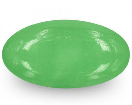Colombia Emerald, 7.05 Carats, Lively Green Oval