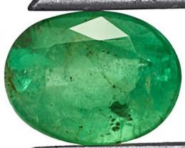 Zambia Emerald, 2.72 Carats, Grass Green Oval