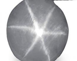 Sri Lanka Fancy Star Sapphire, 2.70 Carats, Grey Oval