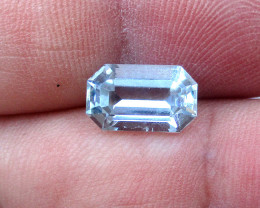 2.37cts Natural Aquamarine Emerald Cut Shape