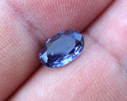 0.78cts Violetish/Blue Iolite Oval Cut