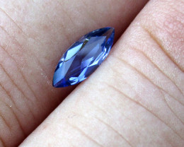 0.44cts Violetish/Blue Iolite Marquise Cut