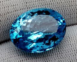 22CT BLUE TOPAZ  BEST QUALITY GEMSTONE IIGC41