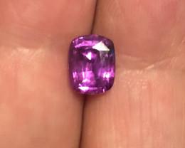 2.24 ct sapphire certified Sri Lanka.