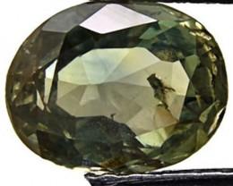 Australia Fancy Sapphire, 1.75 Carats, Intense Green Oval
