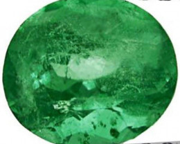 GII Certified Colombia Emerald, 2.24 Carats, Green Oval