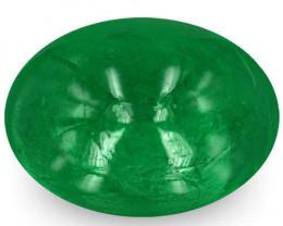 Zambia Emerald, 1.53 Carats, Deep Green Oval
