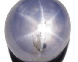 Sri Lanka Blue Star Sapphire, 8.20 Carats, Sky Blue Oval